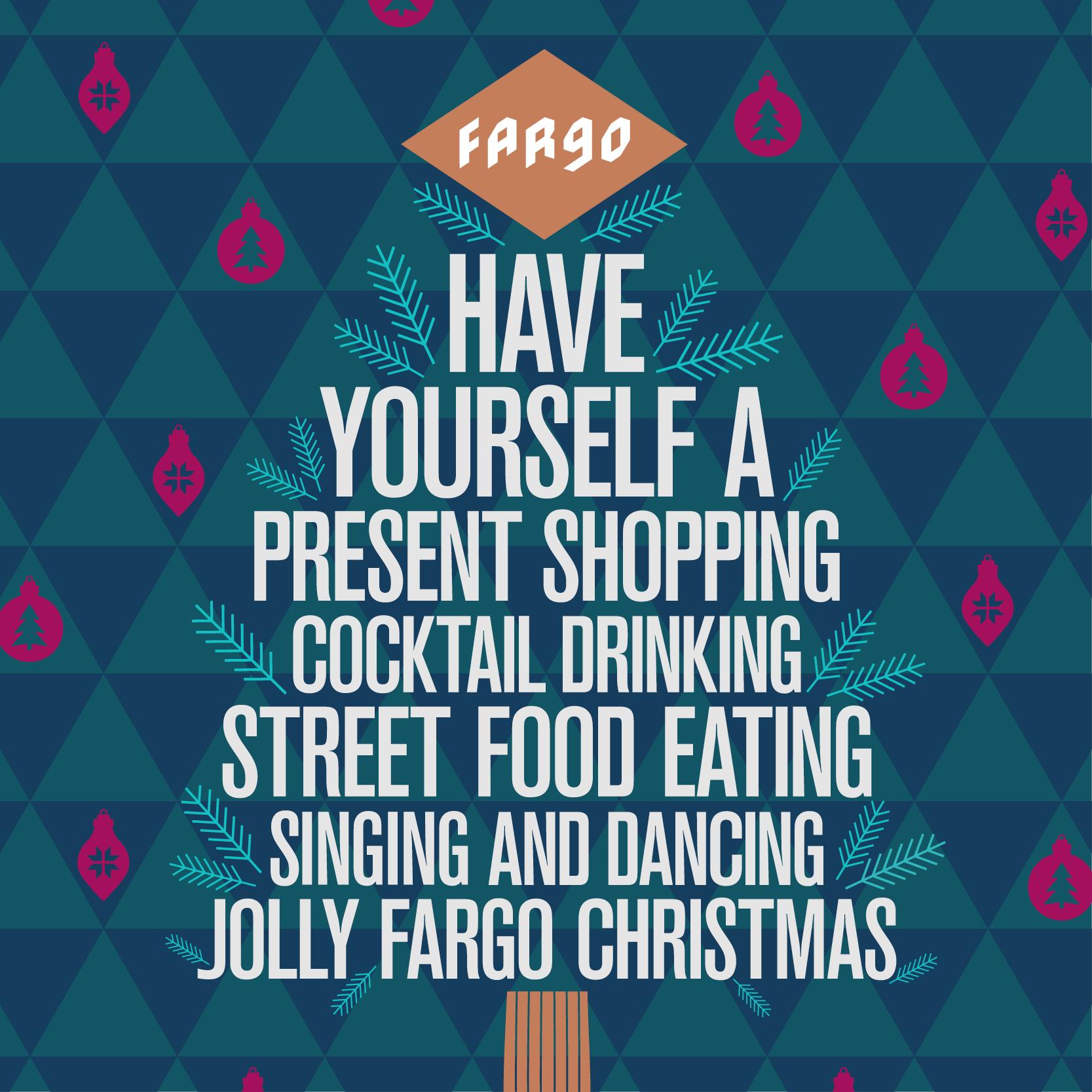 merry christmas from Fargo Village
