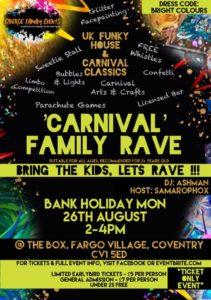 carnival family rave